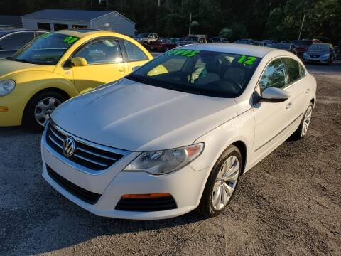 2012 Volkswagen CC for sale at Let's Go Auto in Florence SC