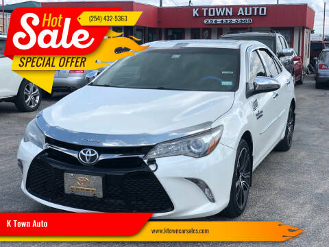 2016 Toyota Camry for sale at K Town Auto in Killeen TX