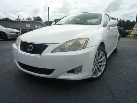 2008 Lexus IS 250 for sale at Roswell Auto Imports in Austell GA