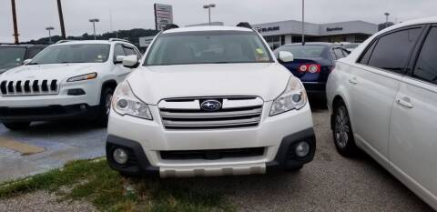2013 Subaru Outback for sale at Sissonville Used Cars in Charleston WV