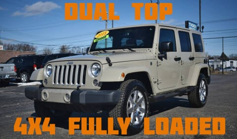2018 Jeep Wrangler JK Unlimited for sale at TIGER AUTO SALES INC in Redford MI
