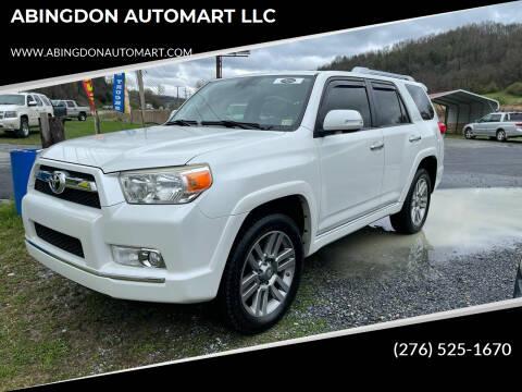2013 Toyota 4Runner for sale at ABINGDON AUTOMART LLC in Abingdon VA