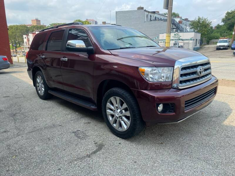 2010 Toyota Sequoia for sale at MG Auto Sales in Pittsburgh PA