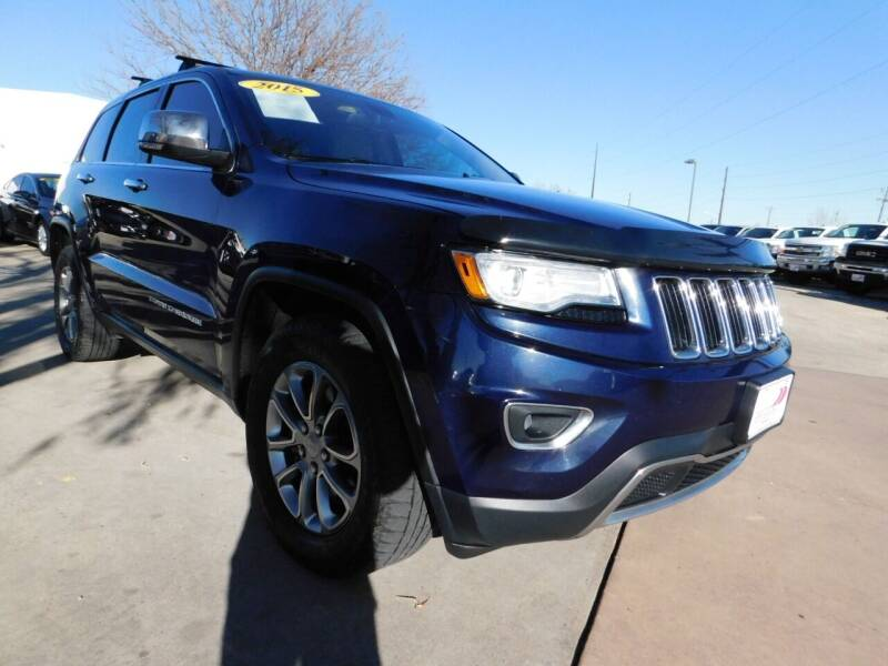 2015 Jeep Grand Cherokee for sale at AP Auto Brokers in Longmont CO
