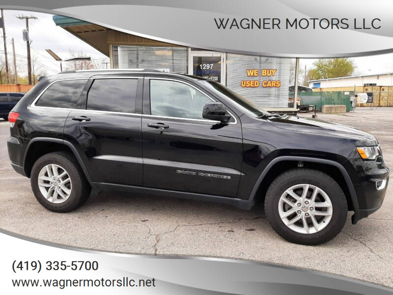2017 Jeep Grand Cherokee for sale at Wagner Motors LLC in Wauseon OH