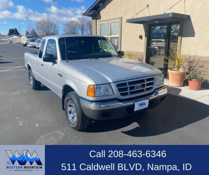 2001 Ford Ranger for sale at Western Mountain Bus & Auto Sales in Nampa ID