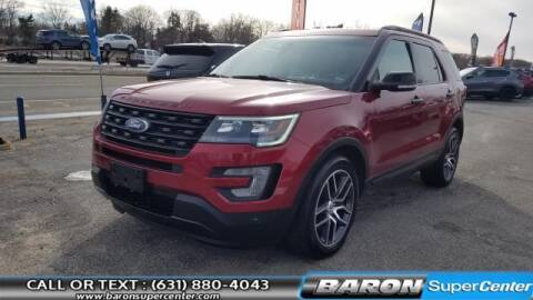 2017 Ford Explorer for sale at Baron Super Center in Patchogue NY