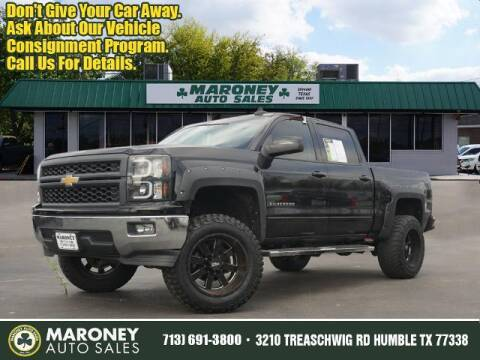 2015 Chevrolet Silverado 1500 for sale at Maroney Auto Sales in Humble TX