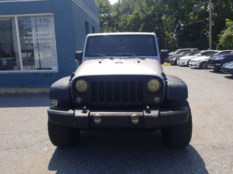 2014 Jeep Wrangler for sale at Kars on King Auto Center in Lancaster PA