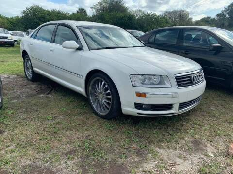 2004 Audi A8 L for sale at ROCKLEDGE in Rockledge FL