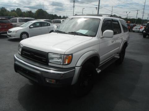2000 Toyota 4Runner for sale at Morelock Motors INC in Maryville TN