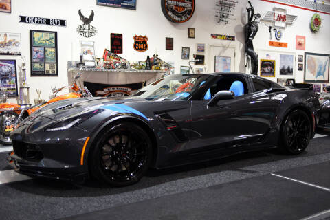 2017 Chevrolet Corvette for sale at Crystal Motorsports in Homosassa FL