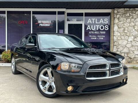 2014 Dodge Charger for sale at ATLAS AUTOS in Marietta GA