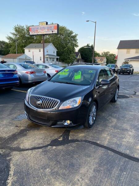 2014 Buick Verano for sale at Dream Auto Sales in South Milwaukee WI