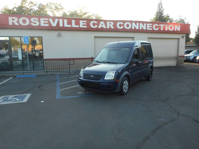2013 Ford Transit Connect for sale at ROSEVILLE CAR CONNECTION in Roseville CA