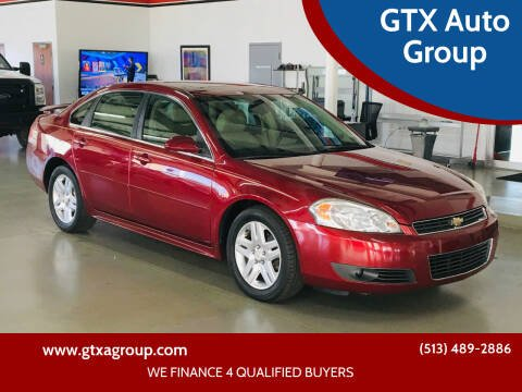 2011 Chevrolet Impala for sale at GTX Auto Group in West Chester OH