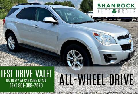 2013 Chevrolet Equinox for sale at Shamrock Group LLC #1 in Pleasant Grove UT