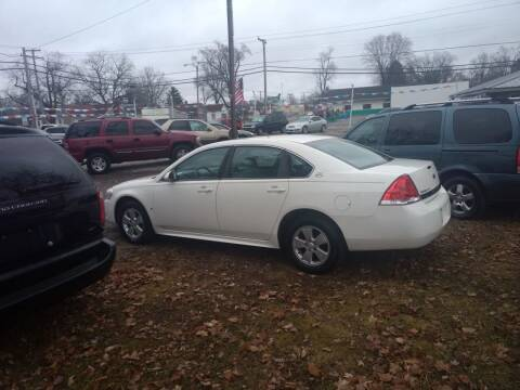 2009 Chevrolet Impala for sale at Antique Motors in Plymouth IN