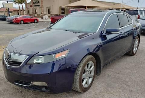 2014 Acura TL for sale at 4 U MOTORS in El Paso TX