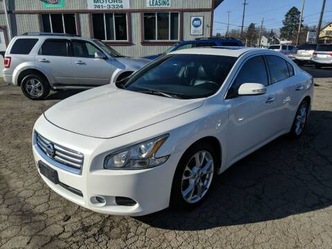2012 Nissan Maxima for sale at Richland Motors in Cleveland OH