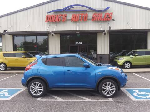 2011 Nissan JUKE for sale at DOUG'S AUTO SALES INC in Pleasant View TN