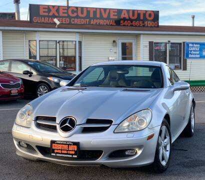 2006 Mercedes-Benz SLK for sale at Executive Auto in Winchester VA