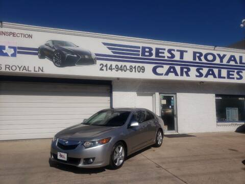2010 Acura TSX for sale at Best Royal Car Sales in Dallas TX