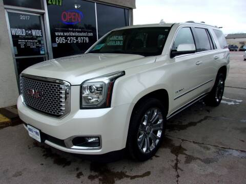 2015 GMC Yukon for sale at World Wide Automotive in Sioux Falls SD