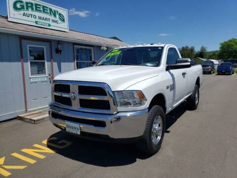 2015 RAM Ram Pickup 2500 for sale at Greens Auto Mart Inc. in Wysox PA