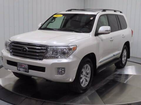 2013 Toyota Land Cruiser for sale at HILAND TOYOTA in Moline IL
