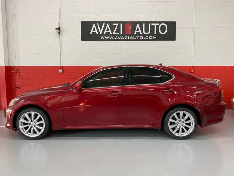 2007 Lexus IS 250 for sale at AVAZI AUTO GROUP LLC in Gaithersburg MD