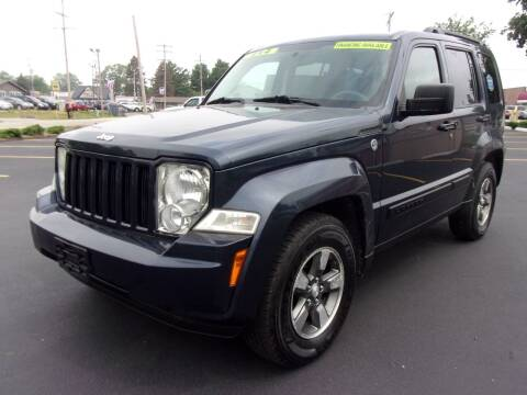 2008 Jeep Liberty for sale at Ideal Auto Sales, Inc. in Waukesha WI