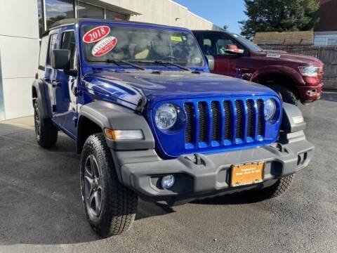 2018 Jeep Wrangler Unlimited for sale at South Shore Chrysler Dodge Jeep Ram in Inwood NY