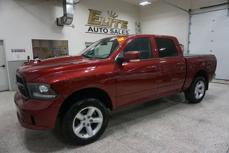 2013 RAM Ram Pickup 1500 for sale at Elite Auto Sales in Idaho Falls ID
