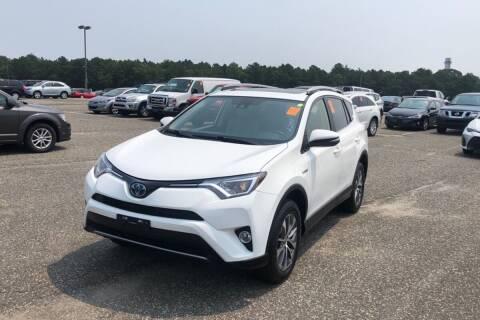 2017 Toyota RAV4 Hybrid for sale at Mass Auto Exchange in Framingham MA