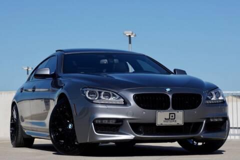 2014 BMW 6 Series for sale at JD MOTORS in Austin TX