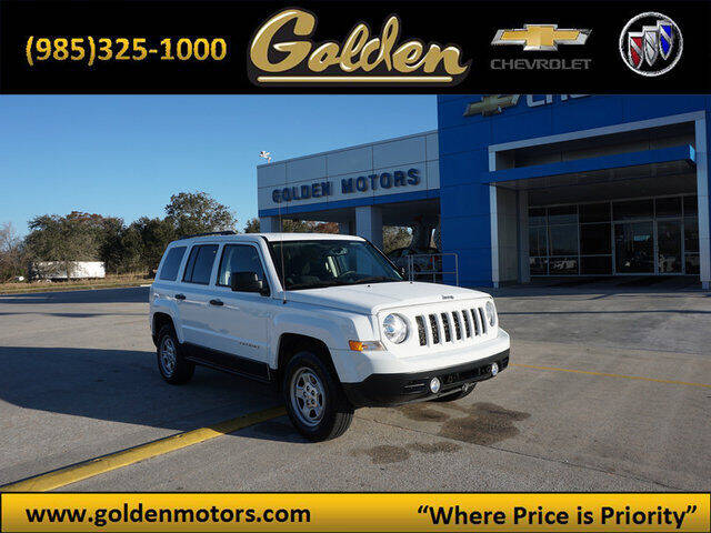 2015 Jeep Patriot for sale at GOLDEN MOTORS in Cut Off LA