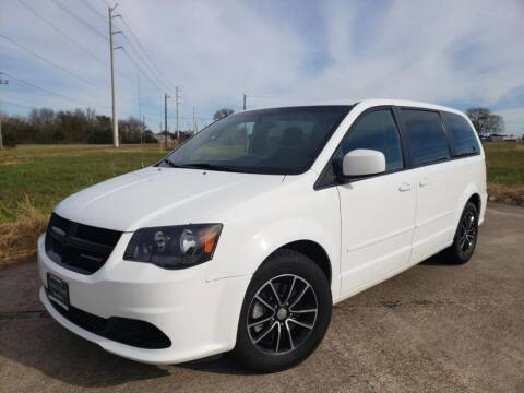 2016 Dodge Grand Caravan for sale at Laguna Niguel in Rosenberg TX