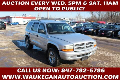 2003 Dodge Durango for sale at Waukegan Auto Auction in Waukegan IL