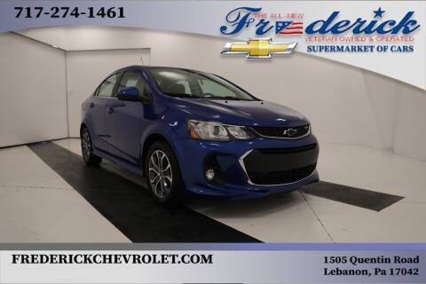 2018 Chevrolet Sonic for sale at Lancaster Pre-Owned in Lancaster PA