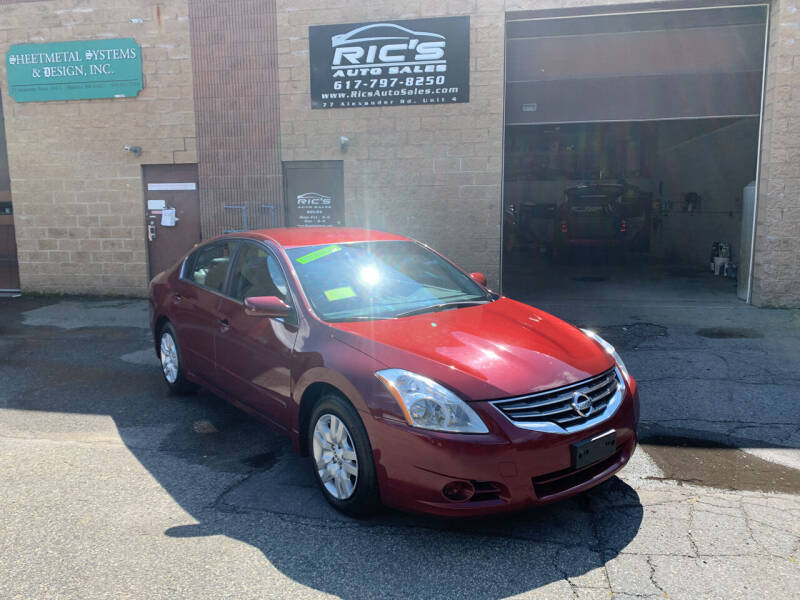2010 Nissan Altima for sale at Ric's Auto Sales in Billerica MA