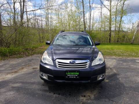 2011 Subaru Outback for sale at L & R Motors in Greene ME