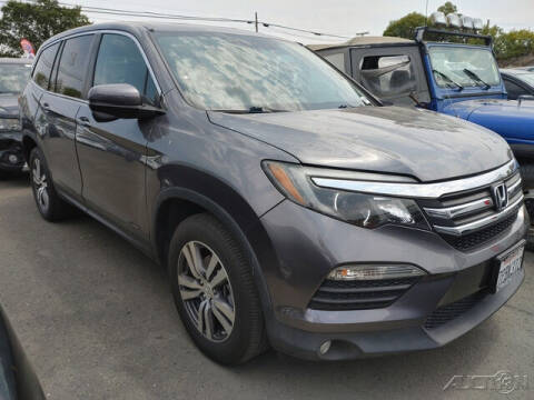 2016 Honda Pilot for sale at Guy Strohmeiers Auto Center in Lakeport CA