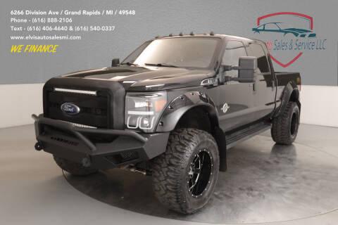 2015 Ford F-250 Super Duty for sale at Elvis Auto Sales LLC in Grand Rapids MI