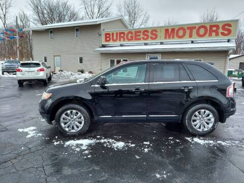 2008 Ford Edge for sale at Burgess Motors Inc in Michigan City IN