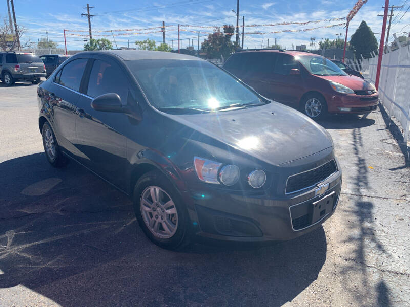 2015 Chevrolet Sonic for sale at Robert B Gibson Auto Sales INC in Albuquerque NM