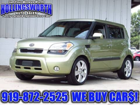 2011 Kia Soul for sale at Hollingsworth Auto Sales in Raleigh NC