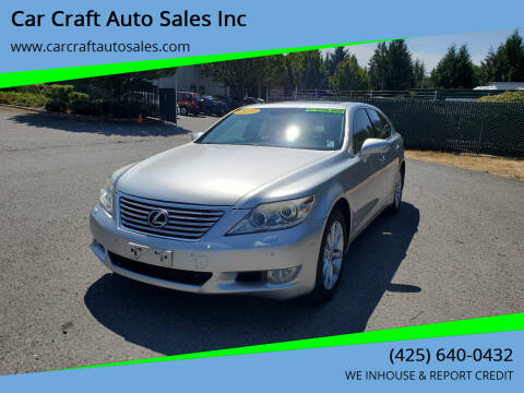 2010 Lexus LS 460 for sale at Car Craft Auto Sales Inc in Lynnwood WA