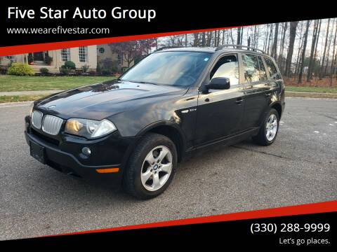 2008 BMW X3 for sale at Five Star Auto Group in North Canton OH