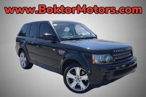 2012 Land Rover Range Rover Sport for sale at Boktor Motors in North Hollywood CA